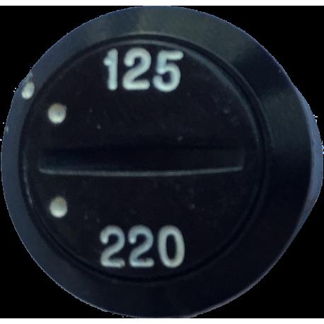 Selector de tensión para panel
