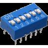 DIP Switch Azul de 6 Contactos