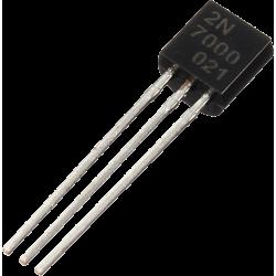 """Transistor MOSFET """"N"""" 2N-7000 TO-92"""