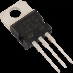 Regulador Tensión +5Vdc.  LM-7805