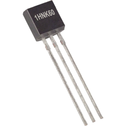"Transistor MOSFET ""N"" 1HNK60 TO-92"