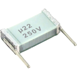 Condensador Poliester Metalizado 220nF/250v