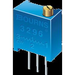 3296W Resistencia Ajustable Multivuelta Precisión