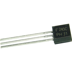 Transistor MOSFET BF-245C Canal N