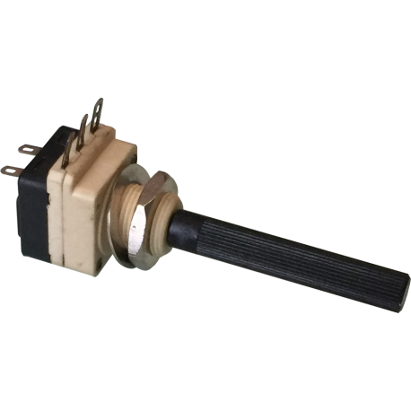 Potenciómetro Eje con interruptor de 2K2ohm.