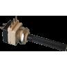 Potenciómetro Eje 4mm. de 10Kohm. con interruptor.