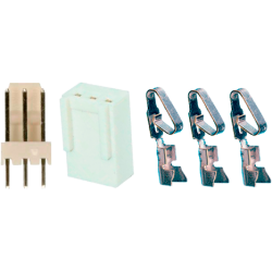 Juego Conector Molex KF2510 3 contactos