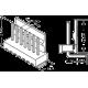 Dimensiones Conector Molex KK con contactos acodados