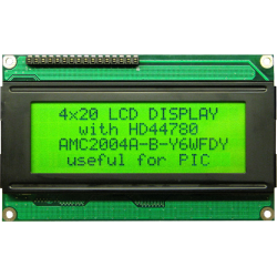 HITACHI LCD 4x20 Verde