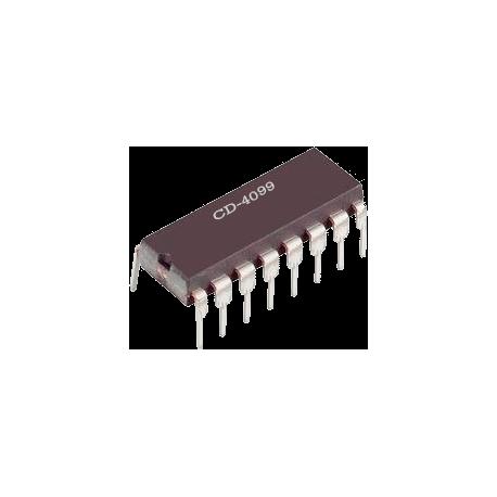 CD-4099 - Latch direccionable de 8 bits CMOS