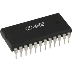 CD4508 - Latch dual de 4 bits CMOS