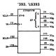 SN-74393 - Doble contador binario de 4 bits TTL