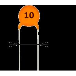 Condensador Cerámico 10pF/50v