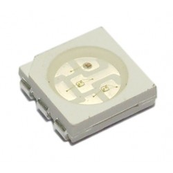 LED Azul 5050 SMD PLCC6