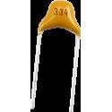 Condensador Cerámico Pasante 330nF/50v