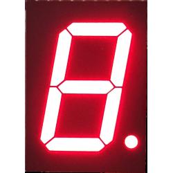 "Display 7 Segmentos Rojo Ánodo Común 2,3"""