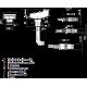 Sensor fotoeléctrico Leuze PRK 25B