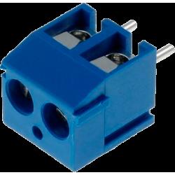 Borna Azul KF301-2P. 2 contactos