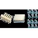 Juego Conector Molex KF2510 - 6 Contactos