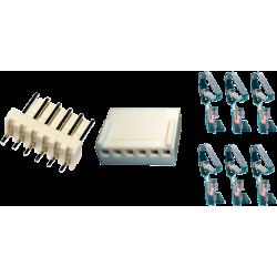 Juego Conector Molex KF2510 6 Contactos