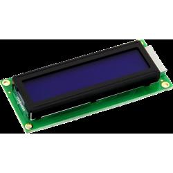 HITACHI LCD 2x16 Azul