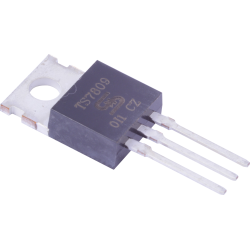Regulador Tensión +9Vdc.  LM-7809