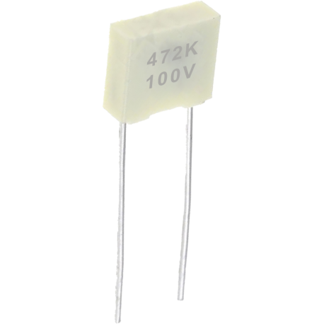 Condensador Poliester Pasante 4,7nF/100v