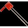 LED Rectangular Rojo 5mm.