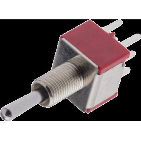 Conmutador Palanca 2 circuitos - 2 contactos