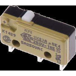 Microswitch SAIA 1 Circuito 2 Contactos. Sin rodillo.