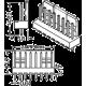 Dimensiones Conector Molex KK con contactos rectos