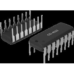CD4022 - Contador Octal con Decodificador de 8 salidas CMOS