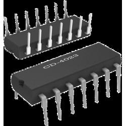 CD4023 - 3 puertas NAND de 3 entradas CMOS