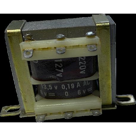 Transformador CROVISA 6V-0-6V/0,3A