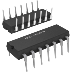 CD4068 - 1 puerta AND/NAND de 8 entradas CMOS
