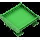 Adaptador Plástico Carril DIN