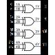 CD4070 - Puertas Exclusive-Or CMOS