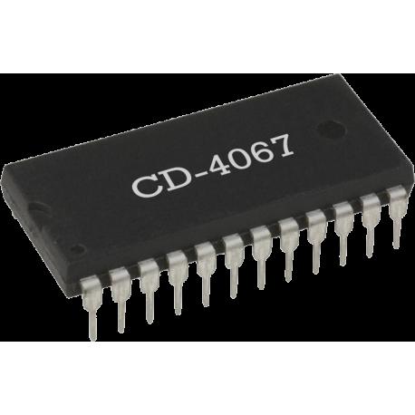 CD4067 - Multiplexor/Demultiplexor CMOS