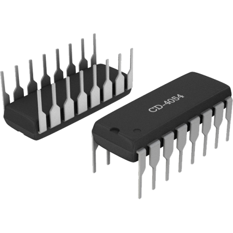 CD4054 - Driver LCD. CMOS