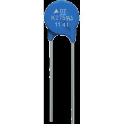Varistor VDR 275Vac. S07K275-TL