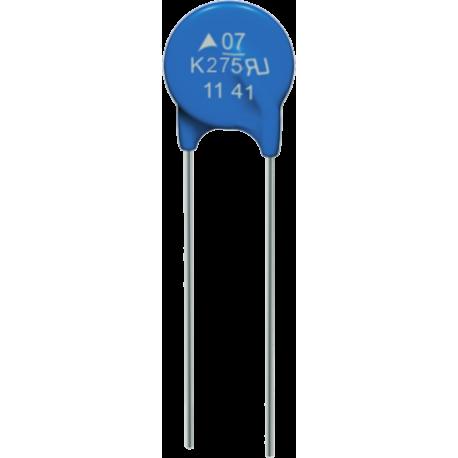 Varistor VDR 275Vac. S07K275