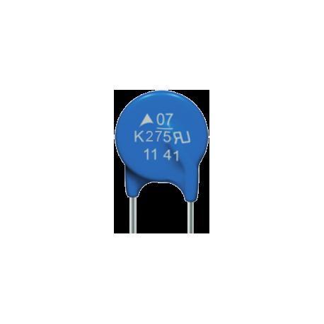 Varistor VDR 275Vac. S07K275-TC
