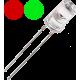 LED Bicolor Rojo-Verde 5mm. 2 patitas. Sin polaridad