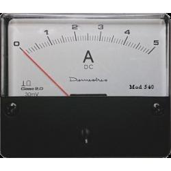 Amperímetro 5Adc.