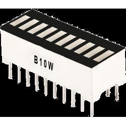 Barra de 10 LED's blancos