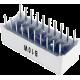 Barra gráfica de 10 LED's blancos