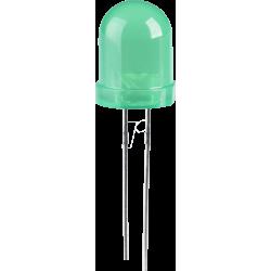 LED Verde 10mm.