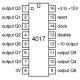 CD-4017 - Contador de Décadas CMOS