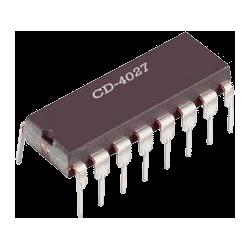 CD4027 - Doble Flip-Flop JK CMOS