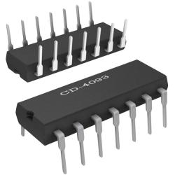CD4093 - Cuádruple puerta NAND de 2 entradas CMOS